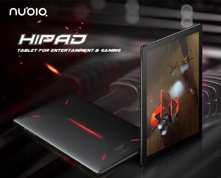 Рассекречен планшет игрового класса Nubia Hipad