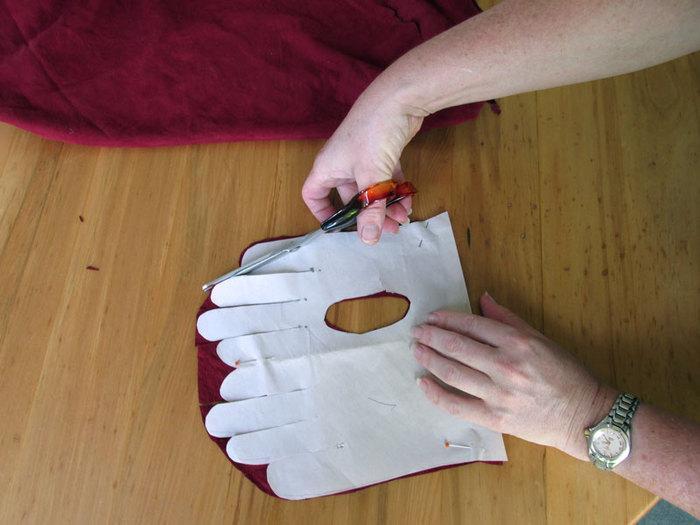 Смотреть перчатки своими руками