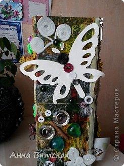 Мастер-класс Хлам-декор  предмет для нужных вещей  Материал бросовый фото 25