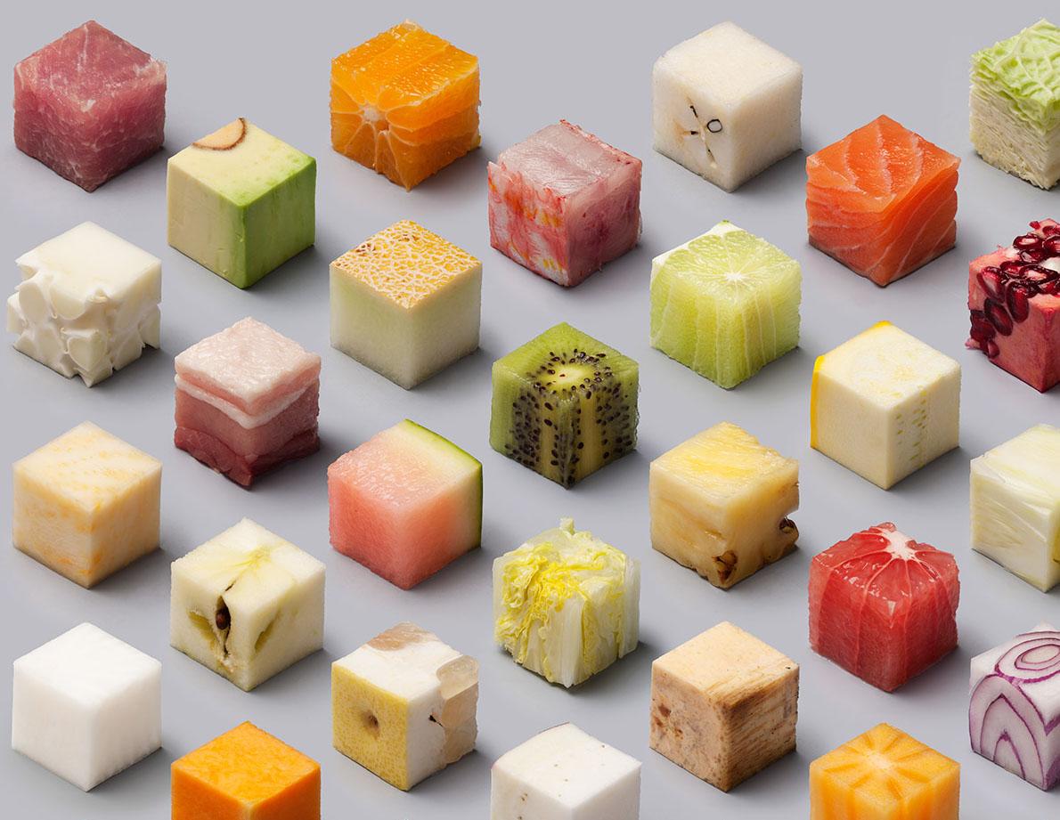 Фруктовый салат кубик рубик рецепт с