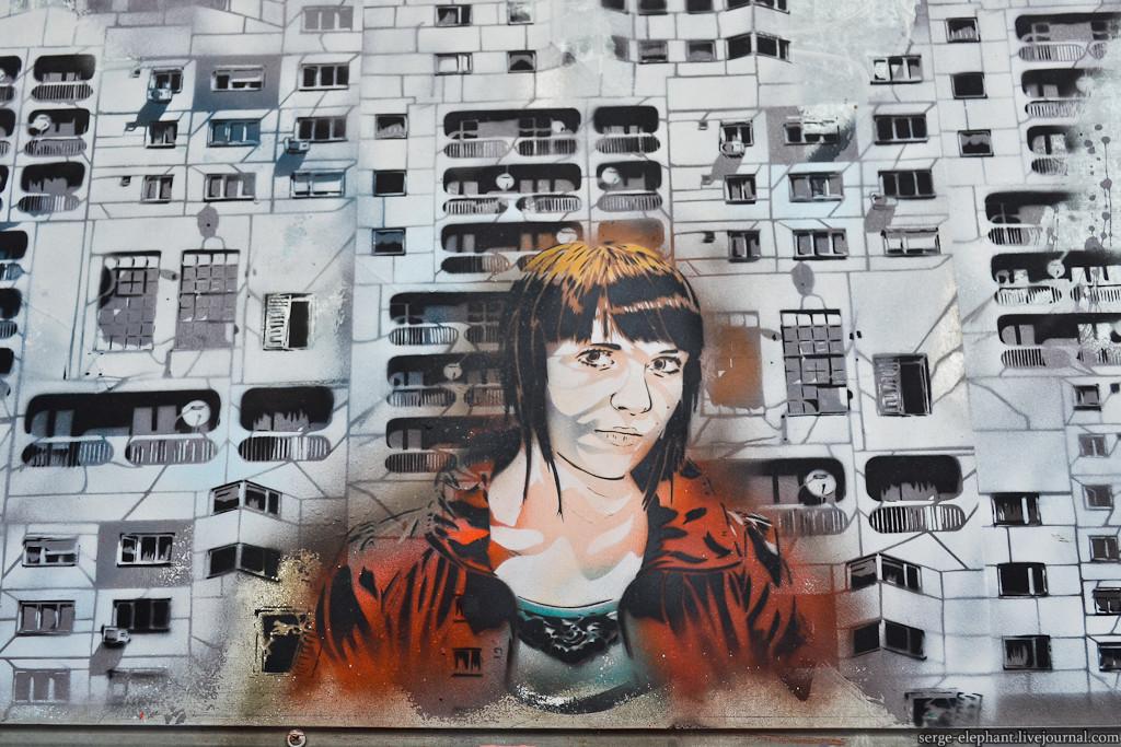 Jana, авторы - Jana & JS граффити, знаменитости, искусство