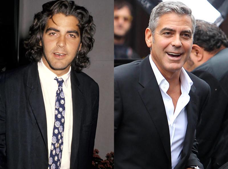 Джордж Клуни звезды, знаменитости, знаменитости в детстве, старость в радость