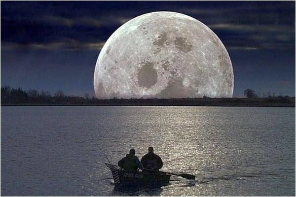 Влияние Луны на клёв