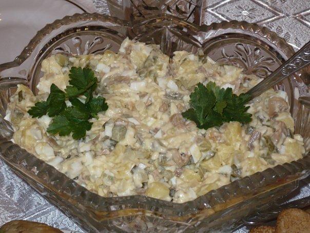 Салат «Гостинный двор» — прекрасная альтернатива салату Оливье