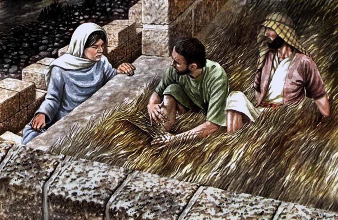 1. Раав блудница (Rahab the Harlot). история, куртизанки