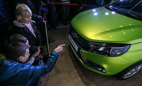 Lada Vesta car launched in Russia