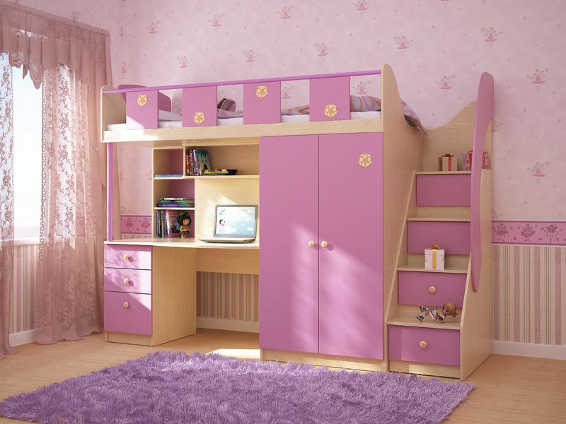 Картинки про комнаты для девочек 9 лет
