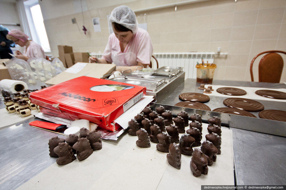 Как сделать шоколадную фабрику