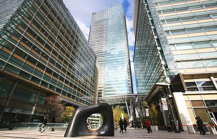 Бизнес-центр Tokyo Midtown в Токио