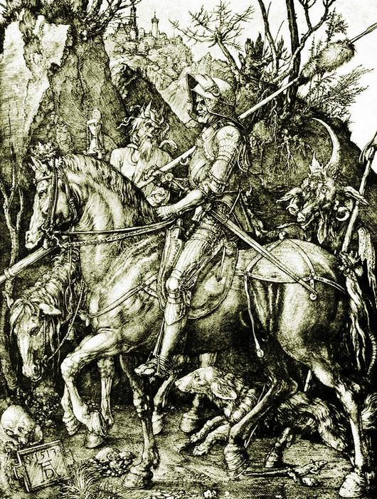 Рыцарь, смерть и дьявол.