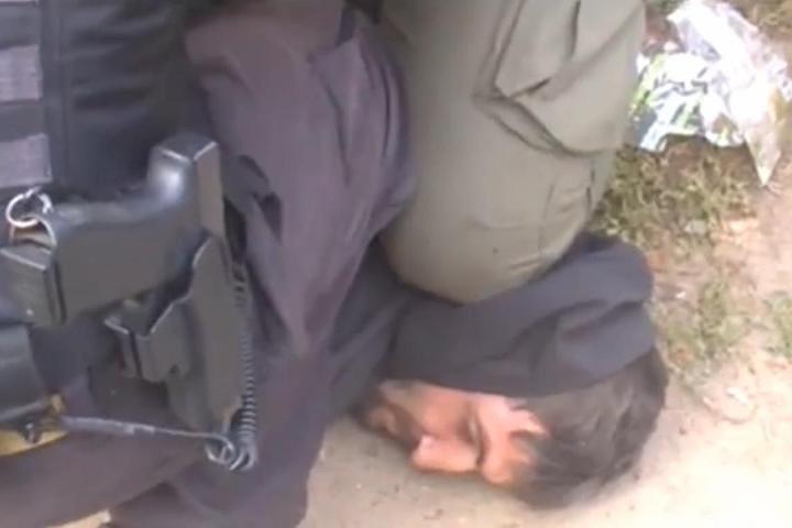 Появилось видео задержания боевика ИГ*, готовившего убийство одного из лидеров ДНР