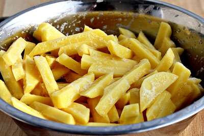 картофель в яйце