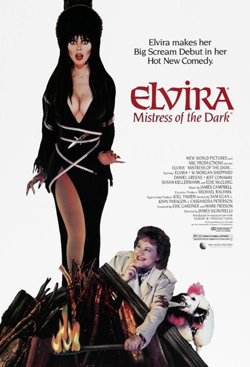«Эльвира-Повелительница тьмы»... 27 лет спустя