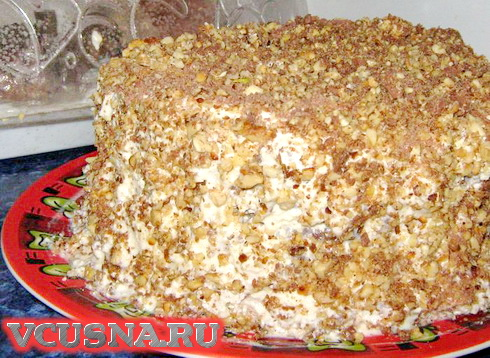 Бабушкин торт VCUSNA.RU