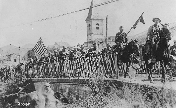Первую мировую войну выиграли американцы
