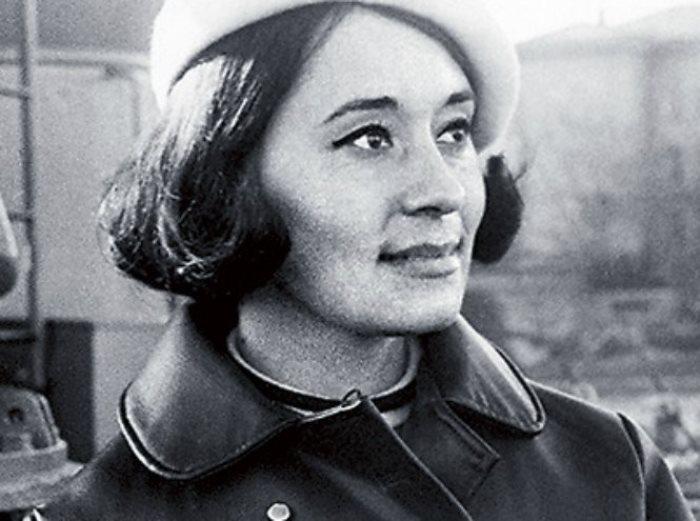 Одна из самых известных советских манекенщиц   Фото: cluebits.com