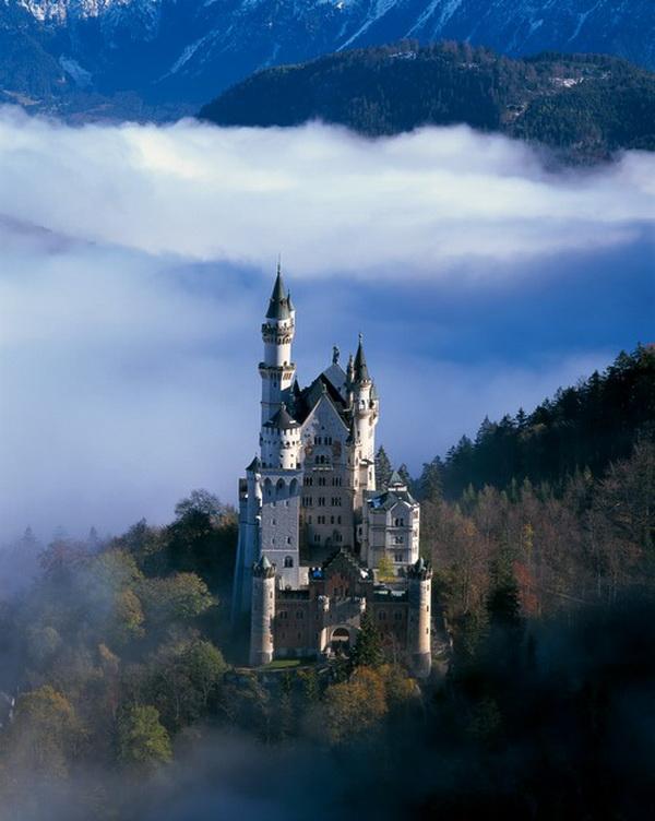 Самый ошеломительно красивый замок в мире (ФОТО)