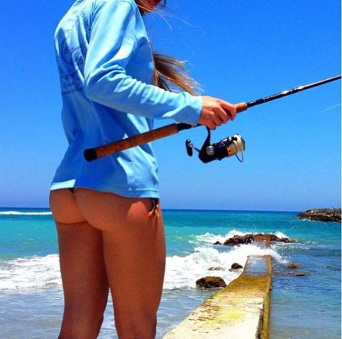 фотки на рыбалке с девушками
