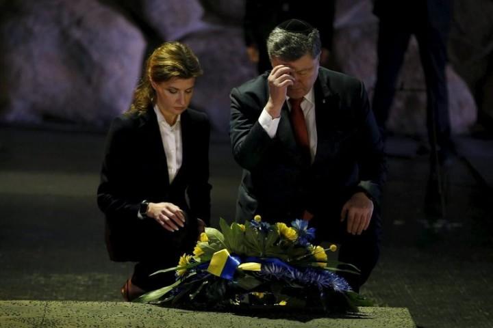 Порошенко извинился перед евреями за преступления украинцев в годы Холокоста