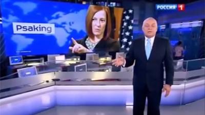 Джен Псаки отражает медийные атаки России