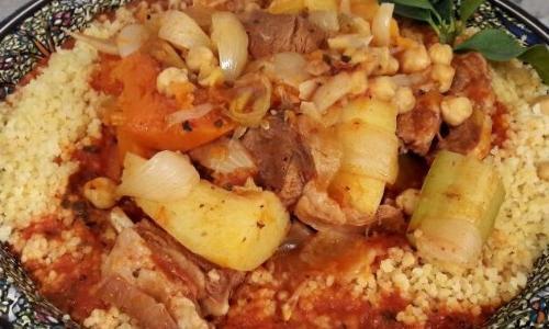 Рецепт кус-куса по-тунисски