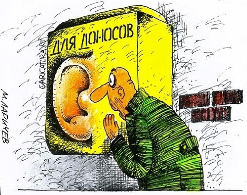 Страна стукачей!: В России предлагают стимулировать доносчиков новой статьей в УК