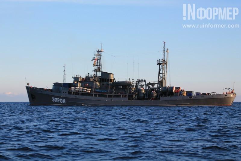 Cпасательное судно Черноморского флота «Эпрон» вернулось в Севастополь из Индийского океана (фото)