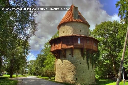 Замок Кийу в Эстонии