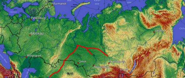 СССР. Наш поворот северных р…