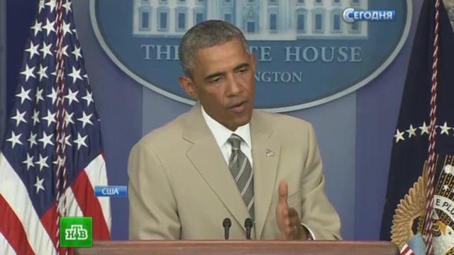 Барак Обама призвал весь мир объединиться против России