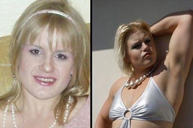 Миловидная блондинка превратилась в мужчину: история со стероидами