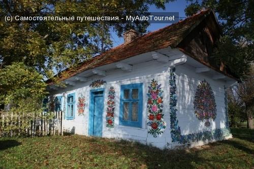 Zalipie - Разноцветная деревня
