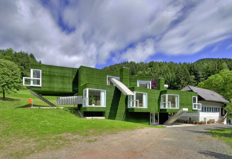 Необычный дом в Австрии