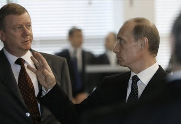 После беседы Путина с Чубайс…