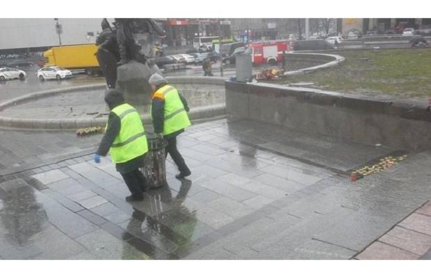 СРОЧНО: В Киеве убирают пала…