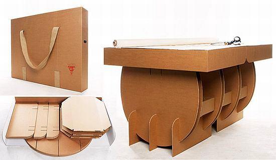 Поделки из картона мебели