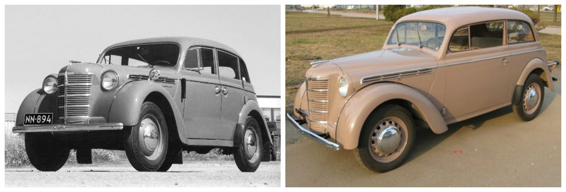 Москвич 400(1946-1956)-Opel Kadett K38(1937-1940) автомобили, история, ссср, факты