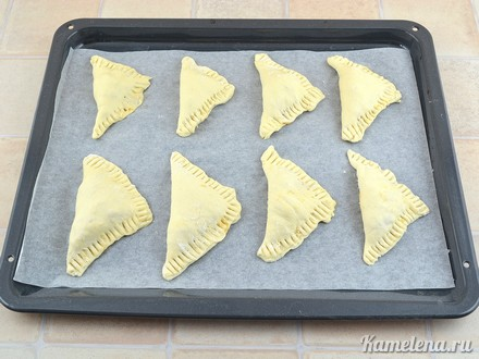 Пирожки с капустой — 9 шаг