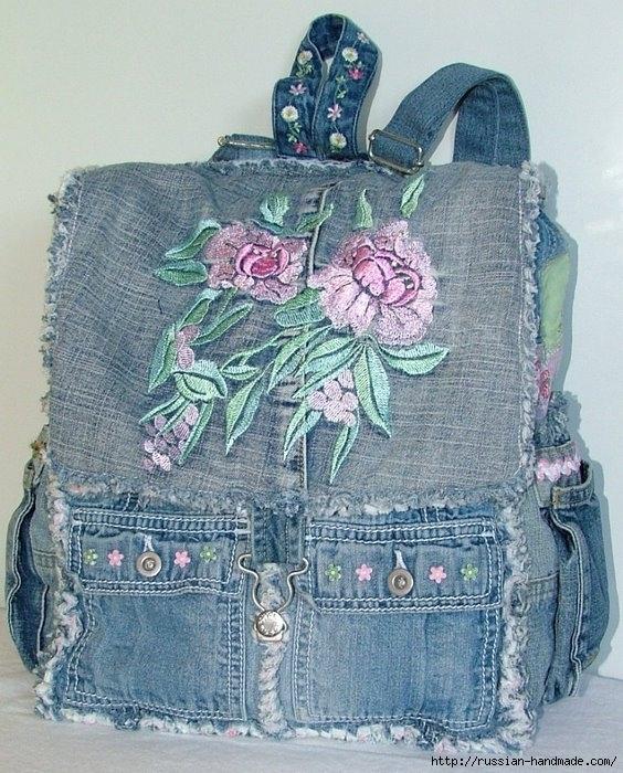 Модные сумки из старых джинсов (31) (564x700, 305Kb)