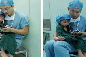 Heart Surgeon With A Heart: Doctor Comforting Young Patient Goes Viral