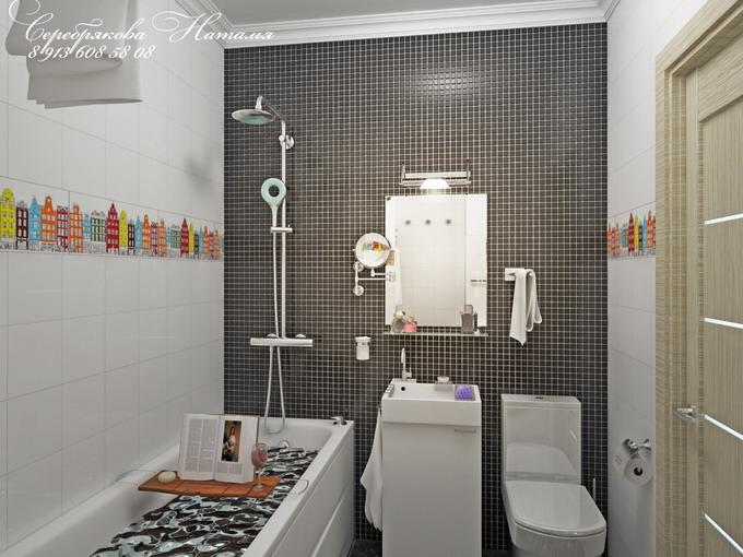 дизайн ванных комнат фото в типовых квартирах