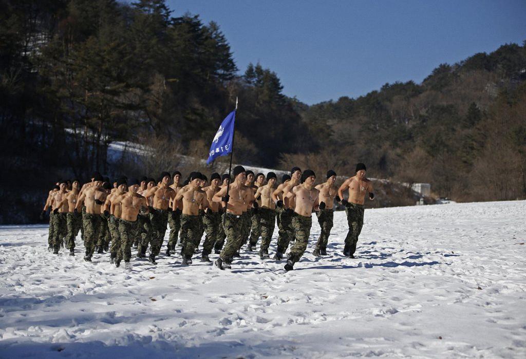Зимние учения южнокорейского спецназа-5