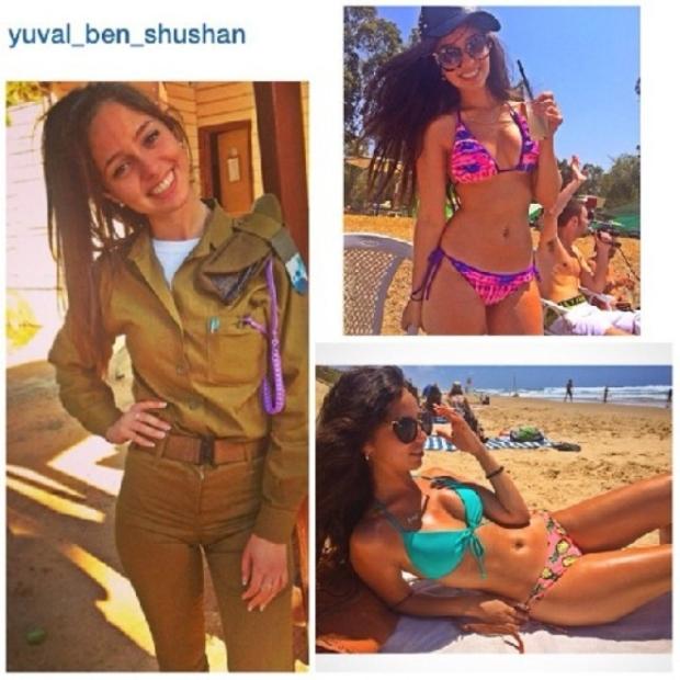 Красотки-военнослужащие Израиля