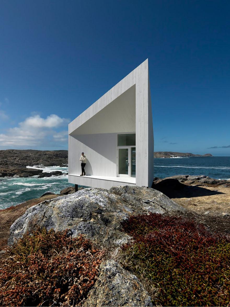 12. Студия для художников на острове Фого, Канада вместительность, дом, размер