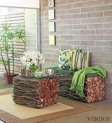 Мастеркласс: создание мебели из веток