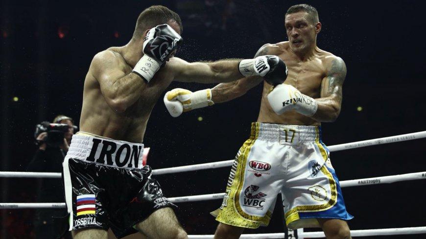 Киев упрекнул Усика за матч …