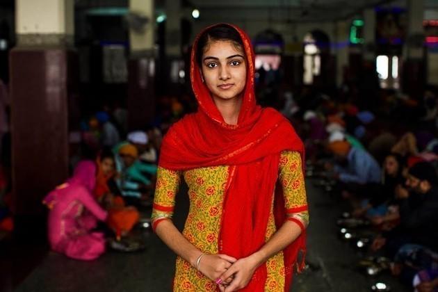 Михаэла Норок запечатлела красоту индийских женщин