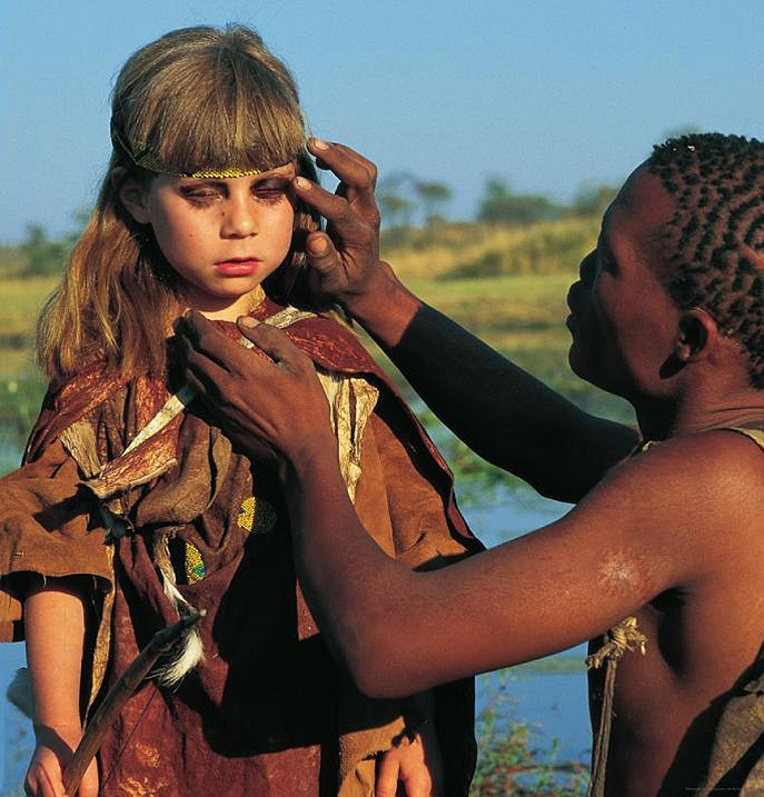 дикие племена фото девушек