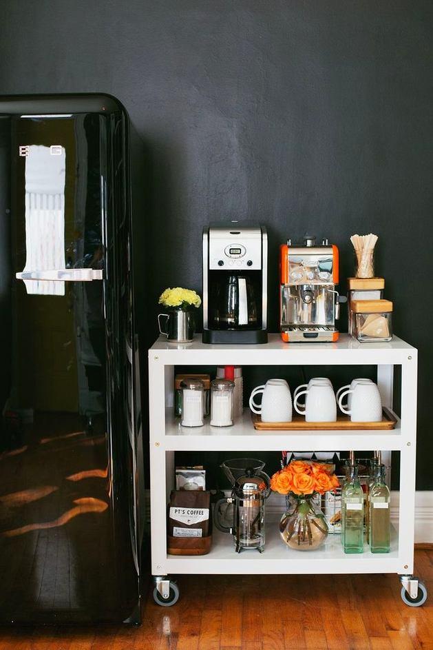 Где сделать домашний кофе-бар: 25 идей
