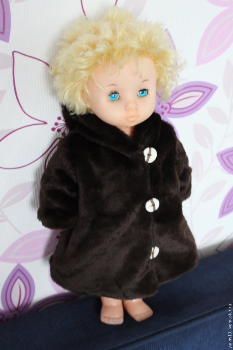 Шьем теплую шубку для куклы-мерзлячки